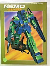 Z Gundam Series No. 18 Nemo MSA-003 1/144 Plastic Bandai - Vintage Kit