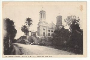 An Early PE CO. Post Card of St. John's Cathedral, Antigua, B.W.I.