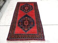 4x7ft. Afghan Kazak Wool Rug