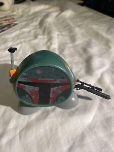 Disney Star Wars iHome Boba Fett Portable Bluetooth Mini Speaker Li-B66BF