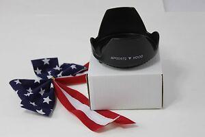 72mm Tulip Flower Lens Hood for DSLR EF Canon 20mm f/2.8 USM