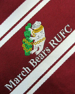 MARCH BEARS RUGBY UNION FOOTBALL CLUB 3.5 INCH tie NECKTIE