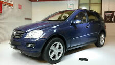 Mercedes-benz Ml350 Year 2010 Dark Blue 1 24 Welly