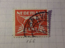 PAYS-BAS - 1926-28, timbre CLASSIQUE 166, type n, oblitéré, VF used STAMP