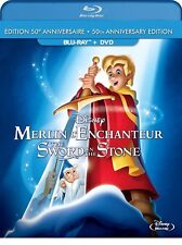 The Sword in the Stone (Blu-ray/DVD, 2013, 2-Disc Set, Canadian)