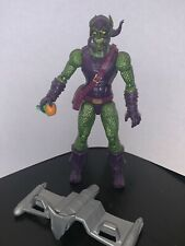 Marvel Legends GREEN GOBLIN - Sandman BAF Wave-Spider-Man~Display Only~Complete