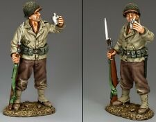King & Country D Day Dd243 U.S. 1St Infantry Division Cheers Mib