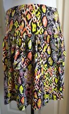 BNWT SEXY NEON SKIRT SIZE 20 FROM GEORGE -PARTY CLUB FESTIVAL HOLIDAY NEON