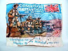 MONTAPLEX Sobre Grupos Combate COMANDOS BRITANICOS DESIERTO The 8th Army airfix