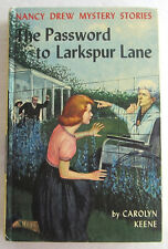 Nancy Drew #10 The Password to Larkspur Lane 1st PC INTRODUCTION of 2nd ART