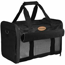 New listing PetsN'all soft-sided foldable pet carrier-Black