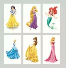 10 Individually Wrapped Disney Princess Tattoos. Ideal For Party Bag Fillers.