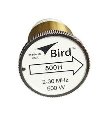 New Bird 500H Plug-in Element 0 to 500 watts 2-30 MHz for Bird 43 Wattmeters