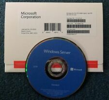 Microsoft Windows Server 2019 Standard License 16 Core - OEM DVD Package Sealed