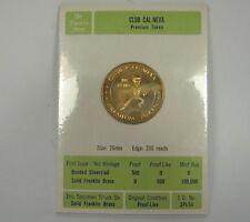 Vintage Club Cal-Neva Reno Premium Token Franklin Mint Proof-like Brass Medal