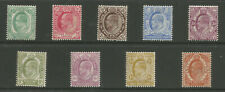 CAPE OF GOOD HOPE SG70-78 THE 1902-4 EVII SET OF 9 MINT CAT £250