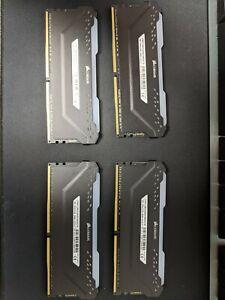 Corsair VENGEANCE® RGB PRO 128GB (4 x 32GB) DDR4 DRAM 3600MHz C18 Memory Kit