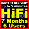 TIDAL HiFi Master Family | 7 M0nths 6 Users || BUY WITH CONFIDENCE || FAST 5 min