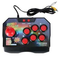 Arcade Console Joystick Game Controller AV Plug Gamepad with 145 Games for TV