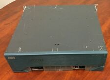 Cisco 3845 Integrated Service Router 256MB Flash 256MB DRAM w/ 2x Power Supply