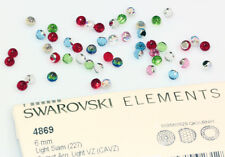 Genuine SWAROVSKI 4869 Faceted Disco Ball Fancy Stones Crystals * Many Colors