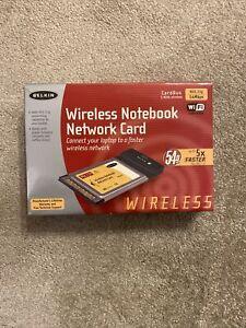 BELKIN F5D7010UK Wireless G Notebook Network Card 802.11g