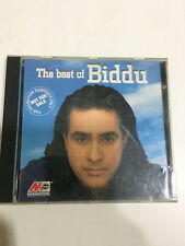 BIDDU BEST CD 1999 PROMO NOT FOR SALE RARE INDIA bollywood Orig