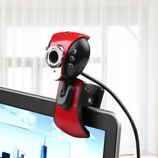 Kebidu Numérique USB 50M Méga Pixels Webcam 6 LED PC Caméra Webcam HD De Bureau