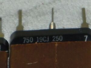 Western Electric flat resistor 1000 ohm, center tap for 750 or 250 1950s..NOS