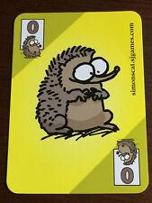Simon's Cat Yellow Promo Card