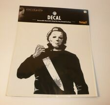 Michael Myers with Knife Mask Decal Halloween H20 Movie For Car Computer Laptop