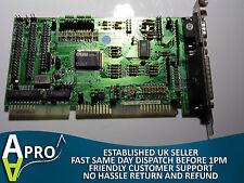 WORKING APT 2000/A MULTI I/O CARD 2 X IDE COM LPT FDD PT-606E 16 BIT - UK SELLER