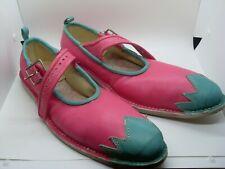NOS Professional Custom Ladies xtra long Maryjane Clown Shoes