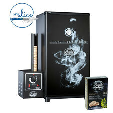 Bradley Original Black 4 Rack Electric Smoker - *Free 24 Hickory Bisquettes*