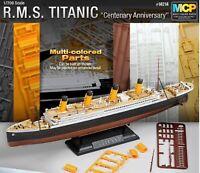 ACADEMY 1/700  R.M.S TITANIC Multi-Colored Parts / Plastic Model Kit #14214