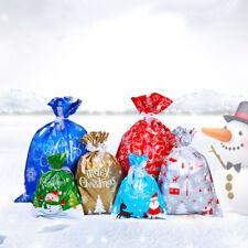 Christmas Gift Bag Candy Goody Bag Xmas Gift Wrapping Drawstring Bag Decoration