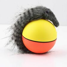 Dog Cat Weasel Motorized Funny Rolling Ball Pet Appears Jump Moving Alive Toy