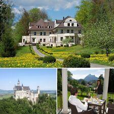 Kurzurlaub 4 Tage in Füssen im Allgäu im Hotel Villa Toscana mit Wellnessbereich
