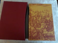 THE DEFEAT OF THE SPANISH ARMADA by GARRETT MATTINGLY   FOLIO SOCIETY 2002