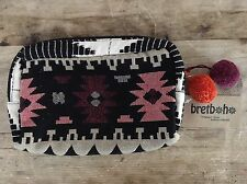 BRETBOHO COSMETIC BAG TRUTH FREEDOM LOVE NWT