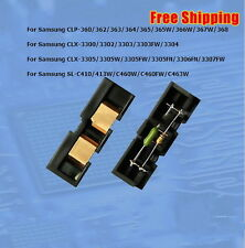 CLT-R406 Drum Reset Chip Samsung SL-C410/413W/C460W/C460FW/C463, etc  *See List*