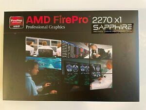 Sapphire AMD FirePro 2270 512MB DDR3 Dual DVI-I PCI-Express X1