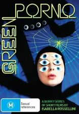 Green Porno DVD Quirky Series of Short Films  Season 1-3 by Isabella Rossellini