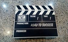 "Wooden Ornamental 10""x8"" Director's Movie Film Action Scene Clapboard Clapper"