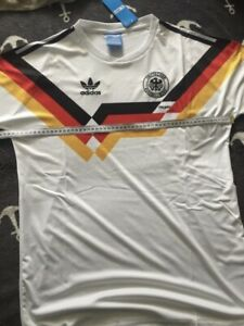 DFB Trikot Deutschland WM 1990 Italien; Matthäus, Völler, Klinsmann...in Größe L