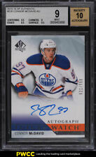 2015 SP Authentic Connor McDavid ROOKIE RC AUTO /999 #226 BGS 9 MINT (PWCC)