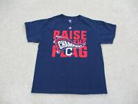 Cleveland Indians Shirt Adult Large Blue Red MLB Baseball Cotton Mens