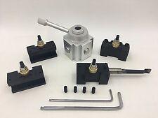 Mini Quick change tool post holder 5PCS/SET kits-Aluminium Material