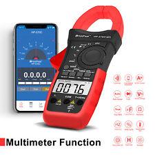 Digital Multimeter Clamp Meter AC DC Current 4000 Range Volt Tester Portable