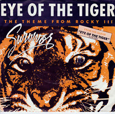 SURVIVOR Eye Of The Tiger / Take You On A Saturday 45   SIrH70